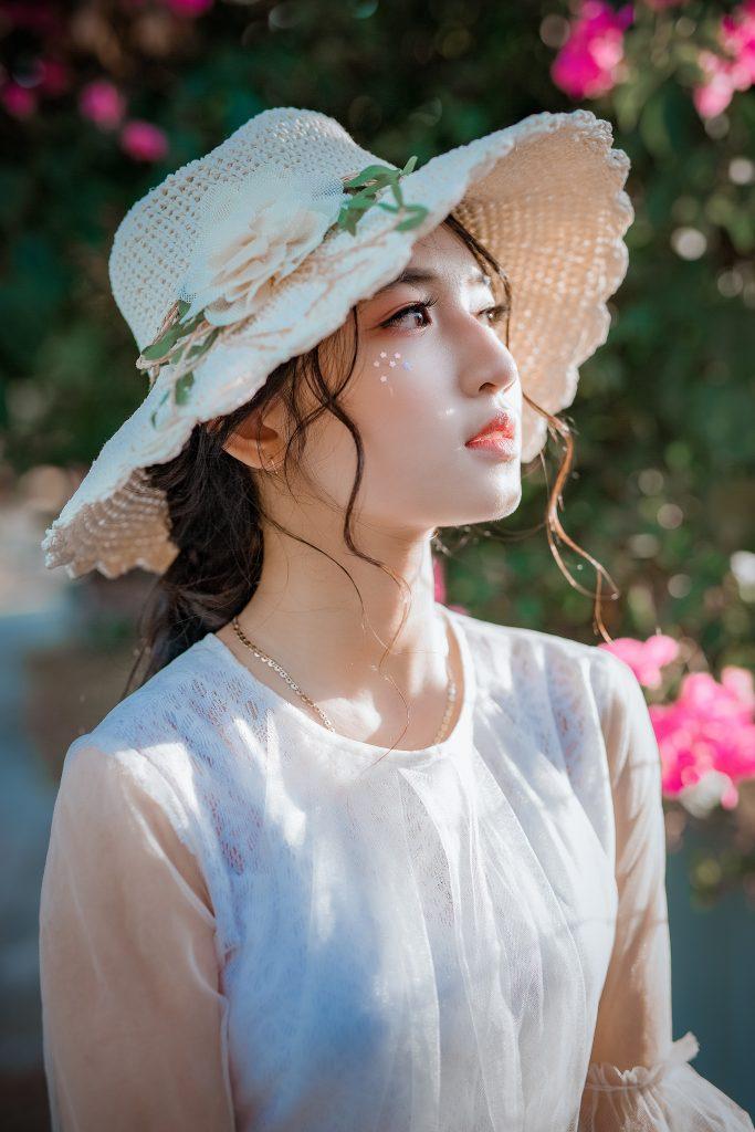 beautiful asian girl profile